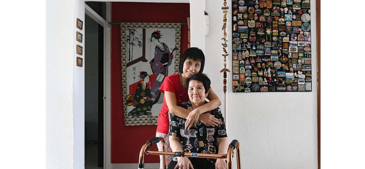 Giving up a career to care for elderly parents